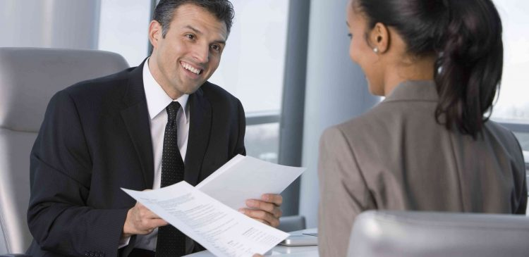 Interview with financial advisor
